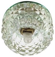 Встраиваемый светильник De Fran FT 9283 CL, хром / прозрачный