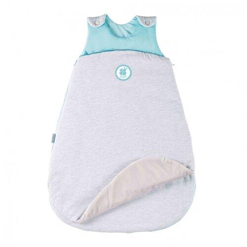 Купить Конверт-мешок Candide спальный трансформер 68 см серый/бирюзовый, Конверты и спальные мешки