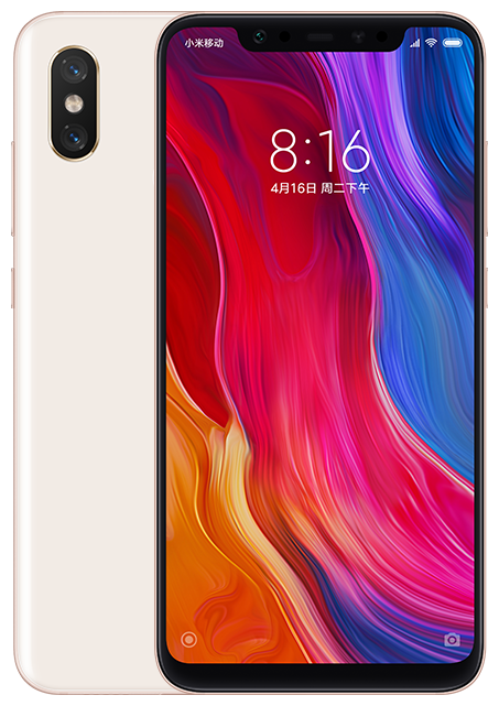 Смартфон XIAOMI Mi8 6/64Gb Black EAC