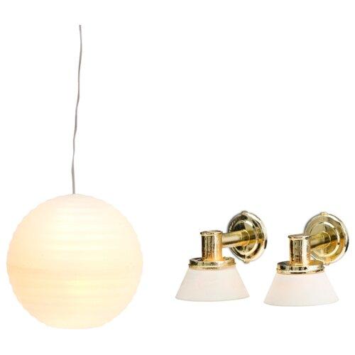 Купить Lundby Люстра с абажуром и настенные бра Смоланд (LB_60604400) белый, Мебель для кукол