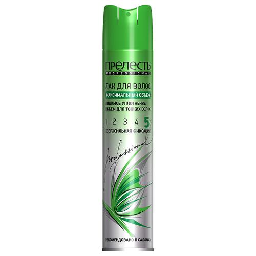 Купить Прелесть Professional Лак для волос Максимальный объем, экстрасильная фиксация, 300 мл