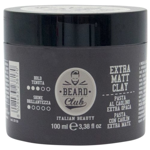 KayPro Паста Beard Club Extra Matt Clay, средняя фиксация, 100 мл