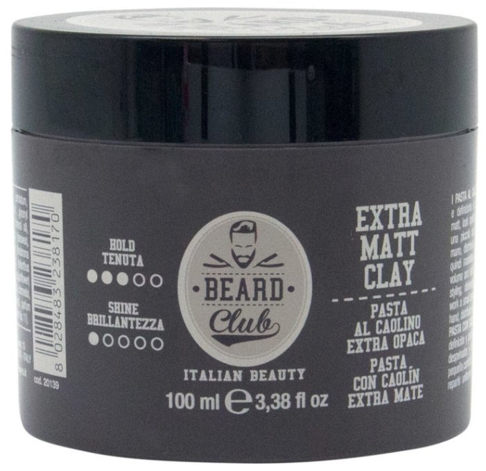 KayPro Паста Beard Club Extra Matt Clay