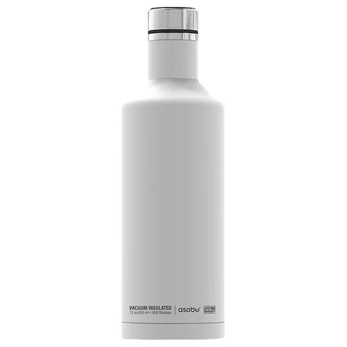 Термобутылка Asobu Times square travel bottle, 0.45 л white