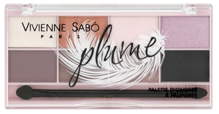 Vivienne Sabo Палетка теней для век Plume