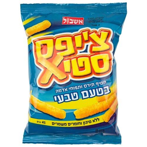 Снэк кукурузно-картофельный Eshbol Ltd Чипстикс натуральный 45 гСнэки, закуски<br>