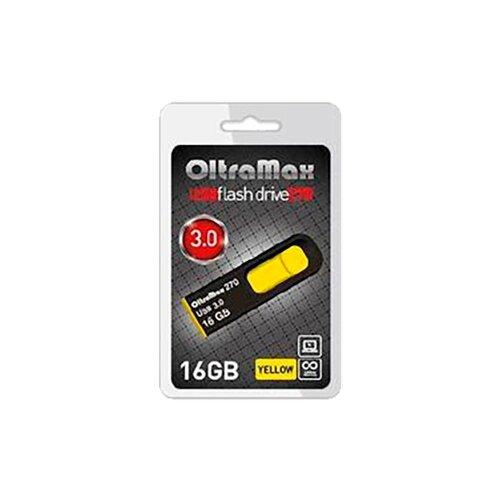 Фото - Флешка OltraMax 270 16 GB, желтый bering 10126 402