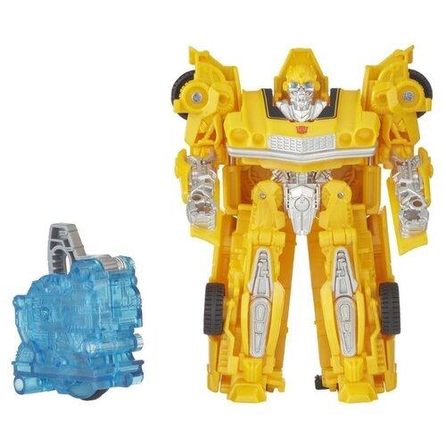 Купить Трансформер Hasbro Transformers Бамблби (Chevrolet Camaro). Заряд энергона: Перегрузка (Трансформеры 6) E2092 желтый, Роботы и трансформеры
