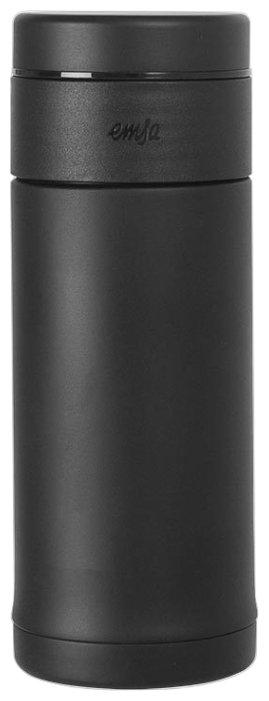 Купить Термокружка EMSA Mobility Slim (0,42 л) черный по низкой цене с доставкой из Яндекс.Маркета (бывший Беру)