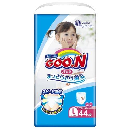Goo.N трусики для девочек L (9-14 кг) 44 шт.