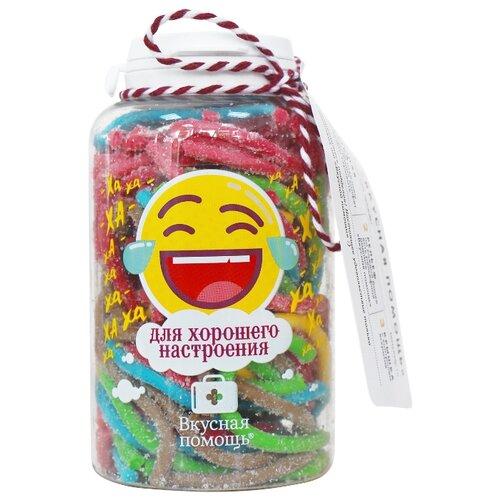 конфеты вкусная помощь от повседневного стресса 250 мл Жевательный мармелад Вкусная помощь Для хорошего настроения ассорти 145 г