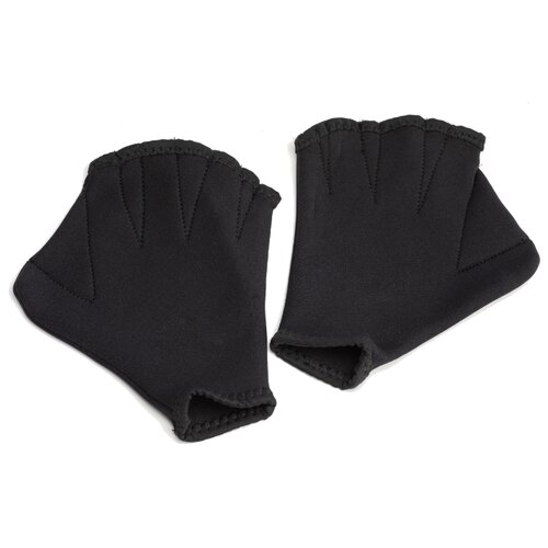 Перчатки с перепонками BRADEX из неопрена черный 1 M