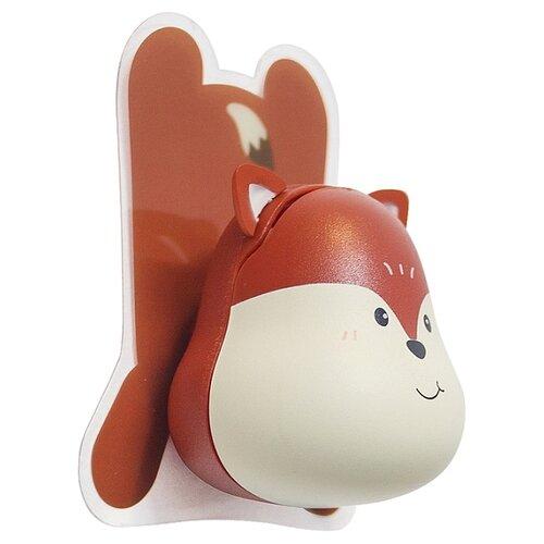 Держатель balvi Fox для зубной щётки коричневый держатель для зубной пасты и щеток balvi kitty
