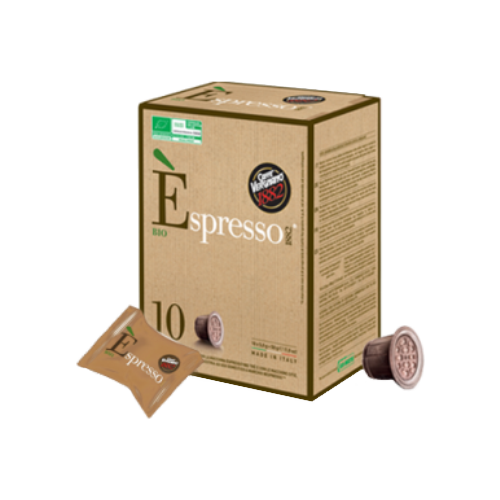 Кофе в капсулах Caffe Vergnano 1982 Espresso Bio (10 капс.) капсулы vergnano e spresso bio 100