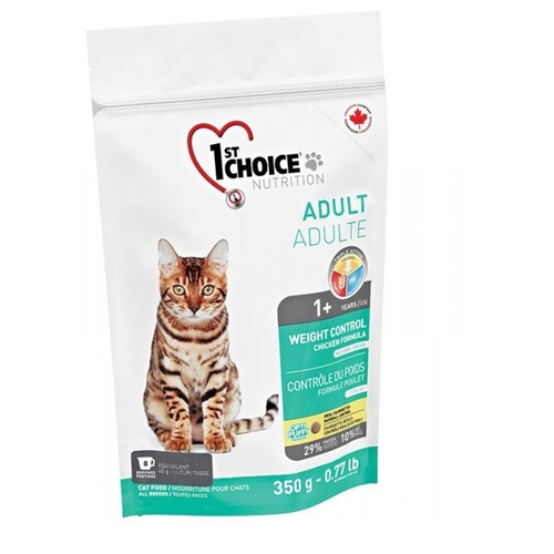 Корм для кошек 1st Choice (0.35 кг) WEIGHT CONTROL for ADULT CATS