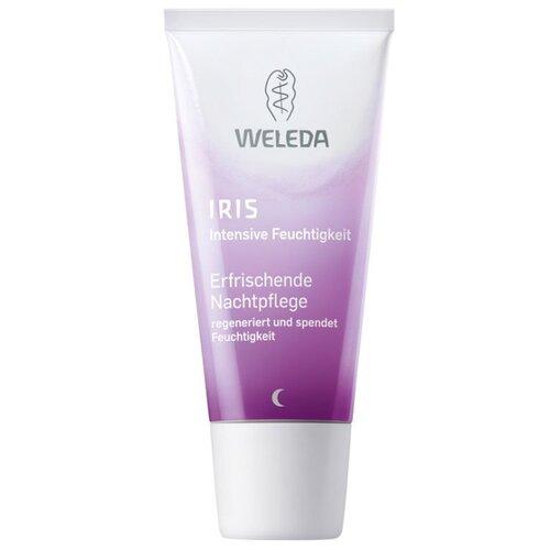 Weleda IRIS Освежающий ночной крем-уход для лица, шеи и области декольте, 30 мл крем для лица освежающий увлажняющий iris weleda