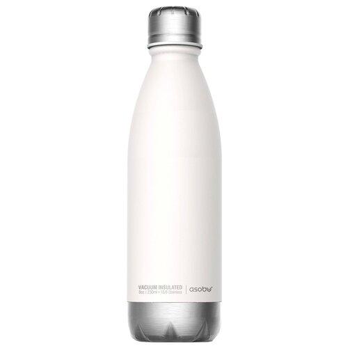Термобутылка asobu Central park travel bottle (0,51 л) белый/серебристый термос фляга asobu central park