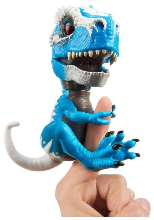 Интерактивная игрушка робот WowWee Fingerlings Untamed T-Rex