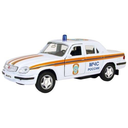 Легковой автомобиль Autogrand ГАЗ-31105 Волга МЧС (4303) 1:43 белый фото