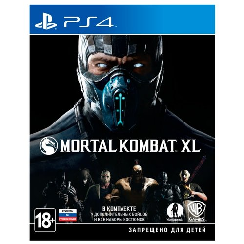 Игра для PlayStation 4 Mortal Kombat XL