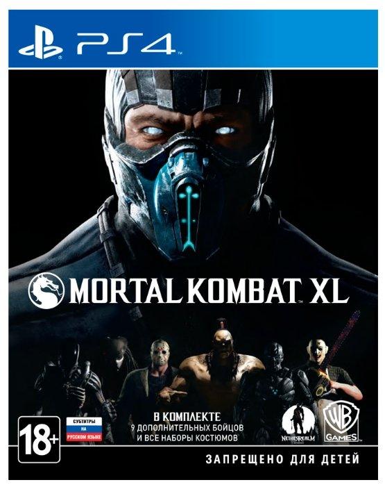 Игра для PlayStation 4 Mortal Kombat XL, русские субтитры фото 1