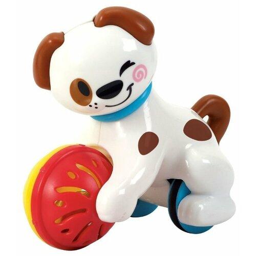Купить Каталка-игрушка PlayGo Moving Puppy (1662) белый/красный, Каталки и качалки