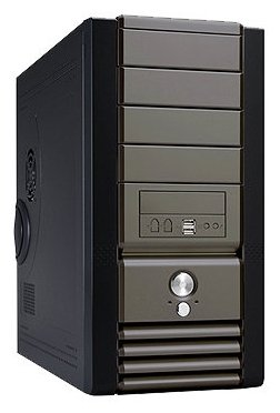 Компьютерный корпус LinkWorld LC319-02 500W Black