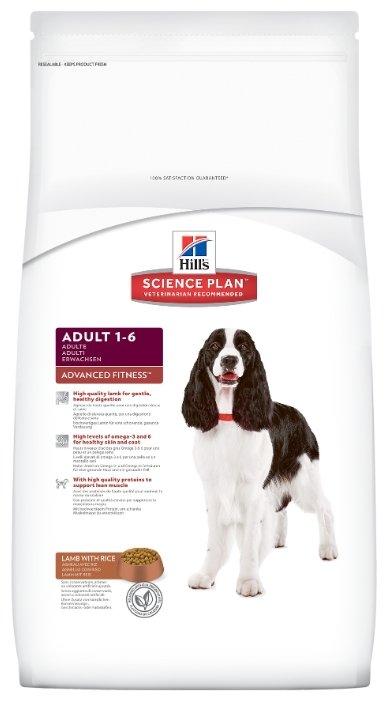 Корм для собак Hill's Science Plan для здоровья кожи и шерсти, ягненок с рисом 18 кг