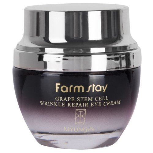 Farmstay Крем для век Grape stem cell wrinkle repair eye cream 50 мл