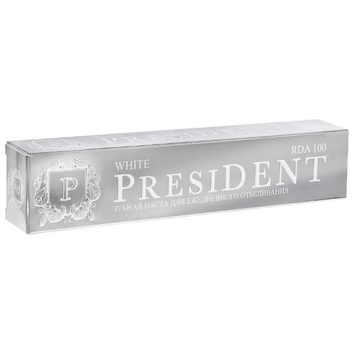 Зубная паста PresiDENT White 75 млЗубная паста<br>