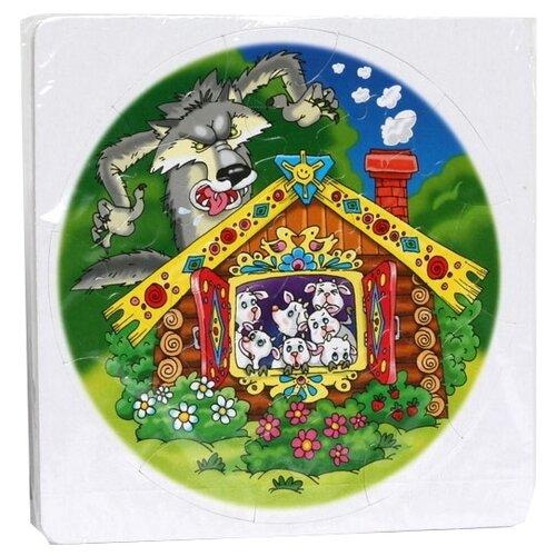 Купить Пазл Десятое королевство Волк и семеро козлят (00380), 30 дет., Пазлы