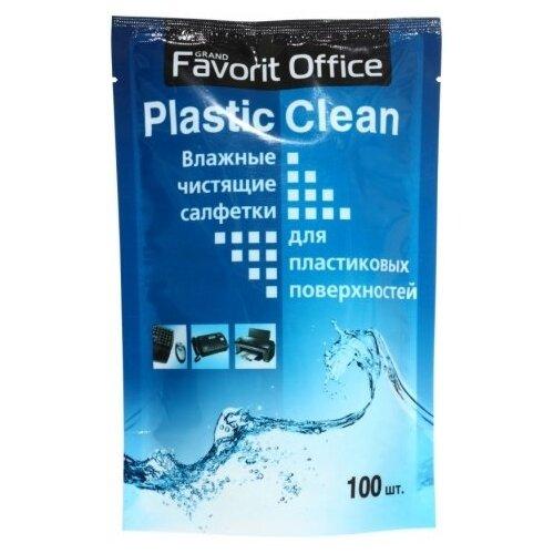 Favorit Office Plastic Clean F230008 влажные салфетки 100 шт. для оргтехники