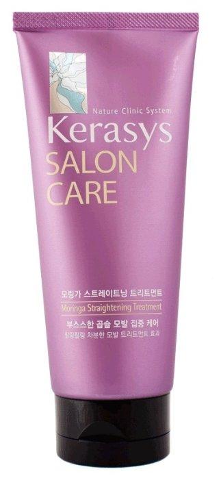KeraSys Salon Care Moringa Straightening Treatment Маска для волос Выпрямление система натурального лечения 200 мл