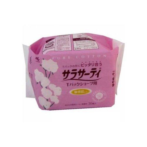 KOBAYASHI прокладки ежедневные Pure Cotton для трусиков танга, 20 шт.