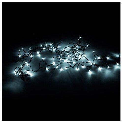 Фото - Гирлянда Sh Lights 1200 см, ILD120C, 120 ламп, белые диоды/зеленый провод гирлянда свечи 6м темно зеленый пвх 30 led тепло белые
