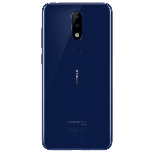 Смартфон Nokia 5.1 Plus глянцевый индигоМобильные телефоны<br>