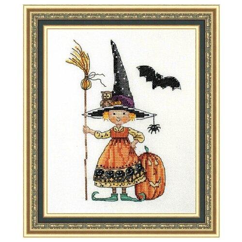 Купить NeoCraft Набор для вышивания крестиком Ведьмочка 13 x 18 см (сп-02), Наборы для вышивания