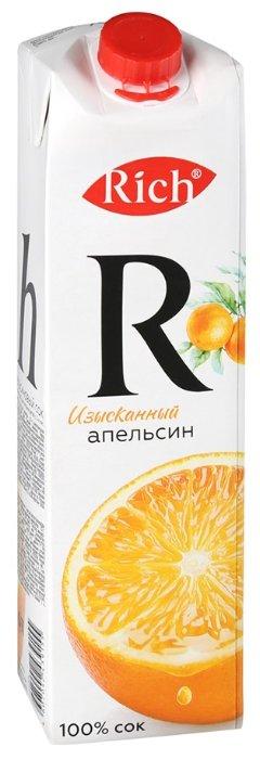 Сок Rich апельсиновый 100% 1л