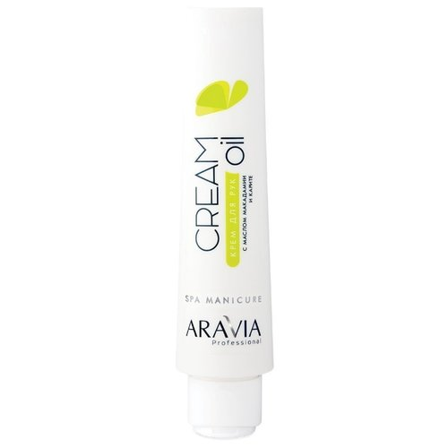 Крем для рук Aravia Professional Cream oil с маслом макадамии и карите 100 мл chi luxury black seed oil curl defining cream gel