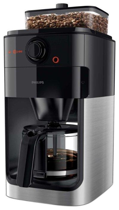 Philips Кофеварка Philips HD7767 Grind & Brew