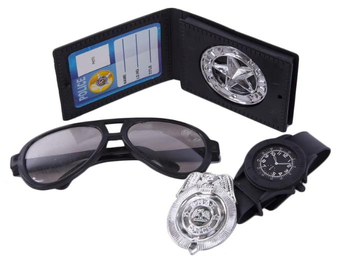 Игровой набор Little Zu Полицейский 90037D