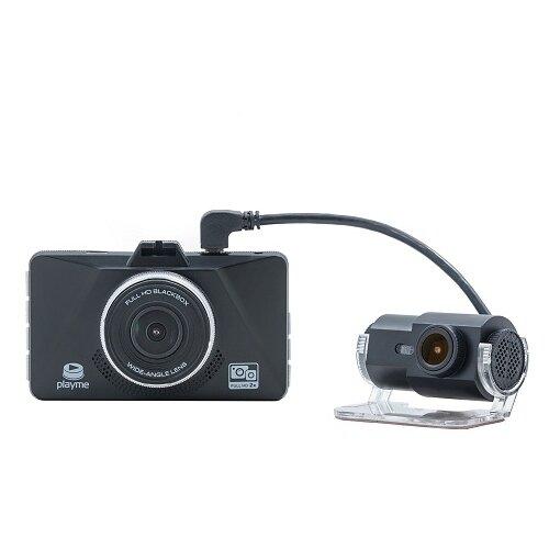 Видеорегистратор Playme ZETA, 2 камеры, черный