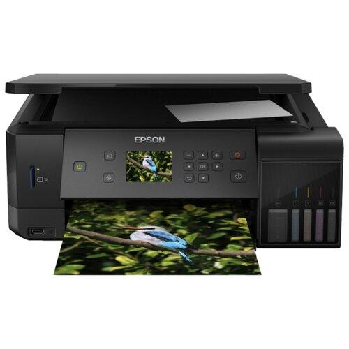 Фото - МФУ Epson L7160, черный мфу epson l4160 черный