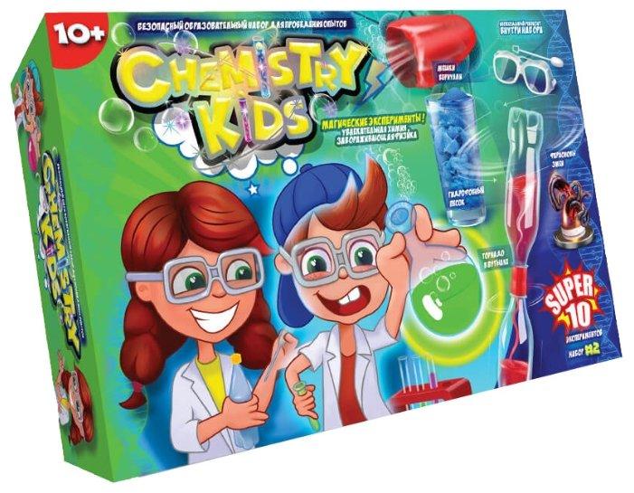 Набор Danko Toys Chemistry Kids Магические эксперименты Набор 2