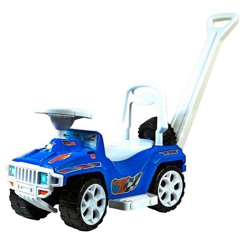 Купить Каталка-толокар RT Race Mini Formula 1 ОР856 (5307 / 5308) со звуковыми эффектами синий, Каталки и качалки