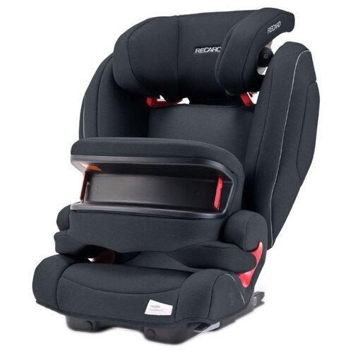 Автокресло группа 1/2/3 (9-36 кг) Recaro Monza Nova IS Seatfix, Prime Mat Black автокресло recaro monza nova is гр 1 2 3 расцветка prime mat black
