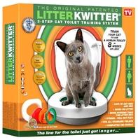 Система приучения к туалету для кошек Litter Kwitter Система приучения кошек к туалету Litter Kwitter
