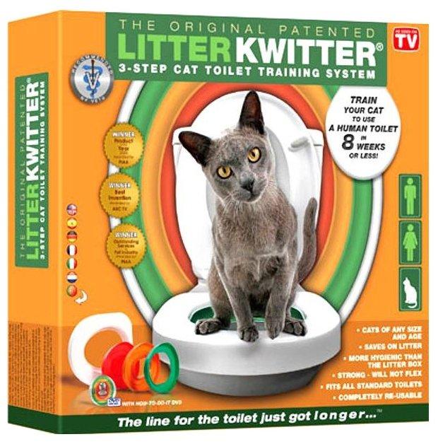 Туалет Litter Kwitter - система приучения к туалету