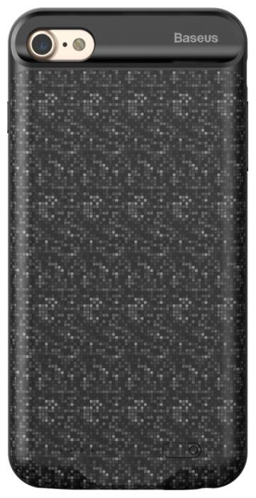 Чехол-аккумулятор Baseus Plaid Backpack Power Bank Case 2500MAH For iPhone7/iPhone8 Белый (ACAPIPH7-BJ02) Белый