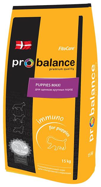 Корм для собак ProBalance Immuno Puppies Maxi